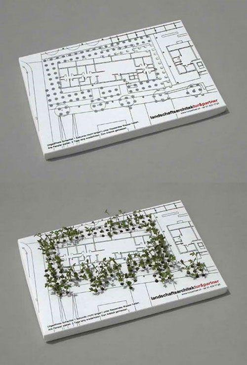 Garden Design Business Cards 126 best creative business cards images on pinterest | business