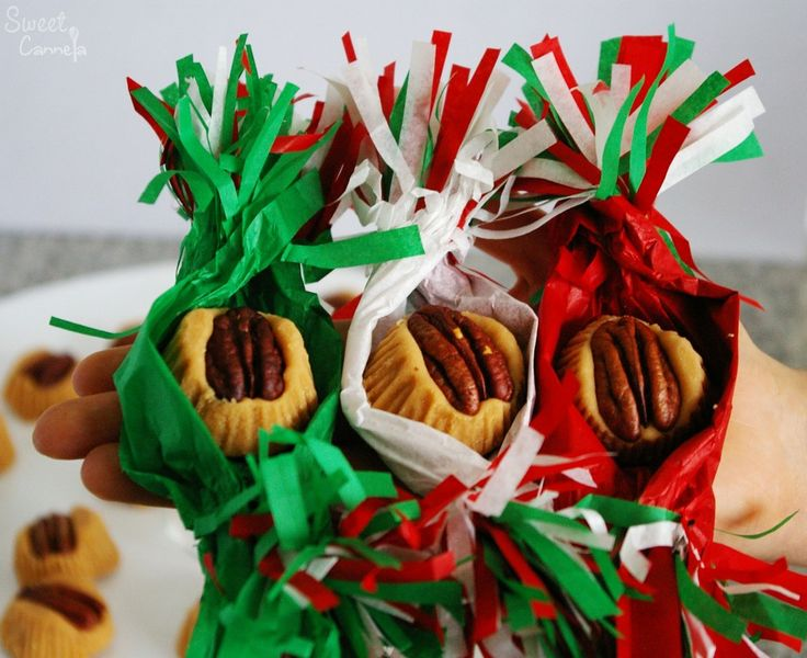 Mostachones- A very traditional Mexican candy. They are milk candies with pecans. A highly recommended recipe! Especially if you have a sweet tooth