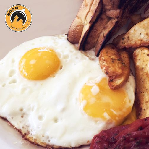 Try a Boom Breakfast & Co ! We love this breakfast hotspot! Their menu is full of healthy and guilty options! Check out the menu here: http://www.boombreakfast.com/ #sunday #breakfast
