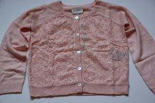 Nadia-Cardigan Heel mooi vest van het merk Creamie in het zacht roze  www.lotenlynn.nl