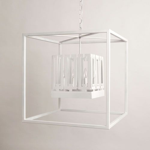 Boxed In Lantern | Julie Neill Designs