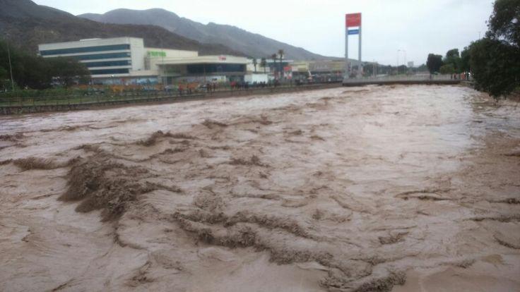 Rio Copiapó, en el aluvión