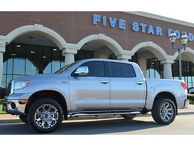 Purchase used 2010 Toyota Tundra 4x4 CrewMax, Custom Wheels ...