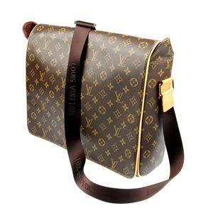 A Louis Vuitton messenger bag