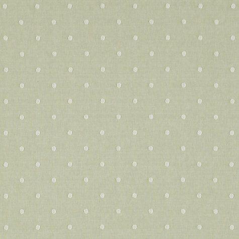 Buy John Lewis Maleeha Spot Curtain, Green | John Lewis