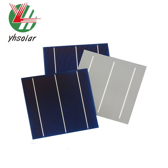 cheap 17.2% 6 Inch multi solar cell for sale from shenzhen DH Solar