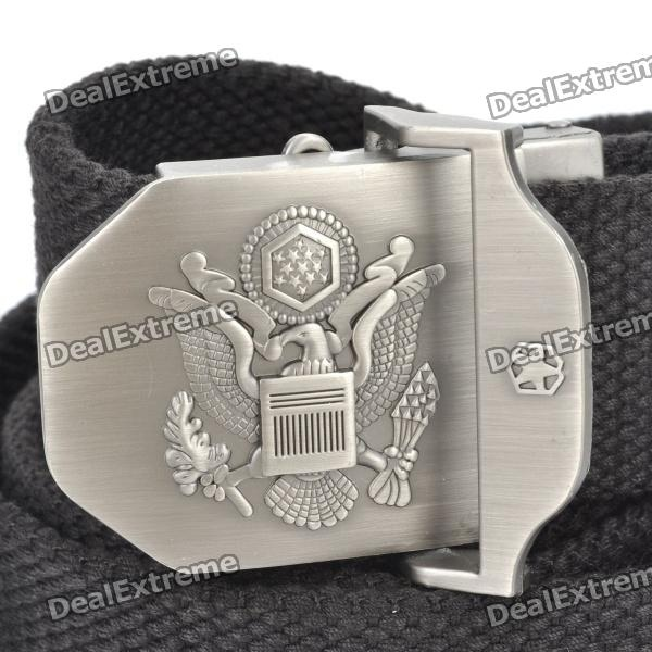 Outdoor The United States Air Force Eagle Logo Tough Tactical Operator Belt - Black $9.40