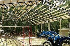 30X40x12 Steel Truss Complete Pole Barn Kit Shipping available