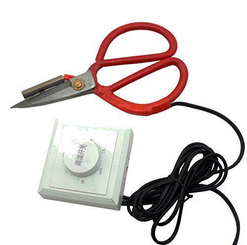 """Hot Melt Stoff Kanten Schere 8.5 """" 21,5 cm Well Made Tools http://www.amazon.de/dp/B009G6S8KS/ref=cm_sw_r_pi_dp_jt6nxb0M6HFTQ"""