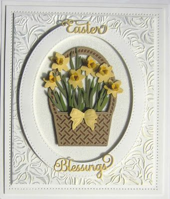 Hi crafters! Last on the poll for today is the new Spring Daffodils. Shown here, they look lovely when used with the Easter Basket, b.... 17/04/2017