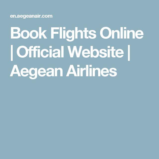 Book Flights Online | Official Website | Aegean Airlines