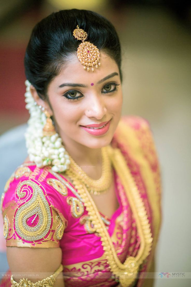 How To Choose The Right Ear Ring for your face type #SouthIndianWedding #Bridal #SouthIndianBride