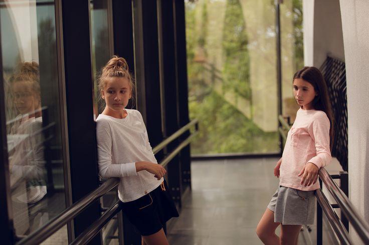 chucho blouse + yasmin skirt/short