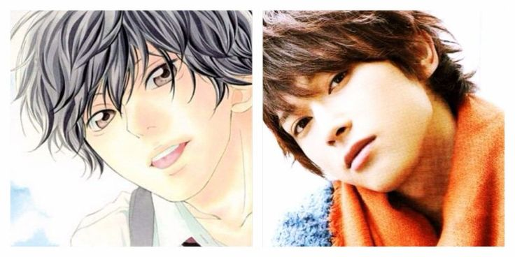 "Ryo Yoshizawa, J live-action movie ""AO--HARU--RIDE, 2014"