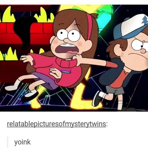 And Again Dipper Saves Mabel.