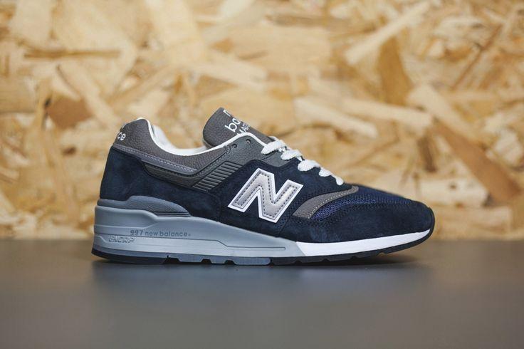 New Balance Made in USA 997 Navy/Grey