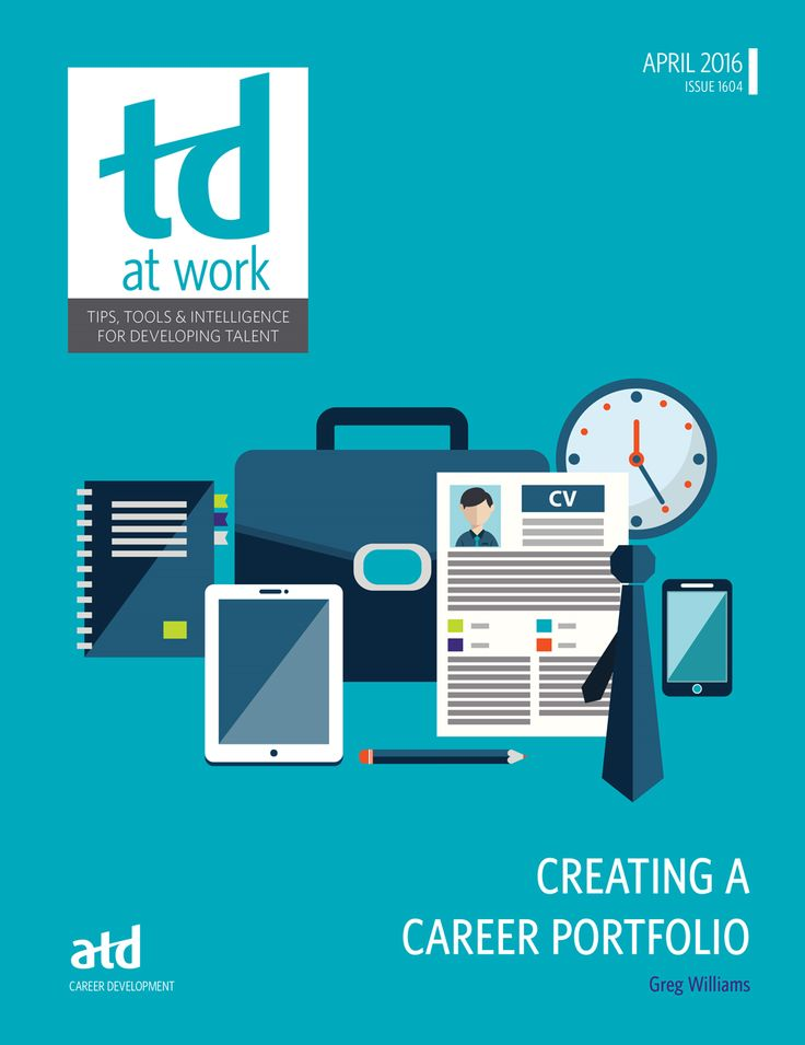 This issue of TD at Work Creating a Career Portfolio offers practical advice to help learning and development professionals create an electronic portfolio to show off their best work