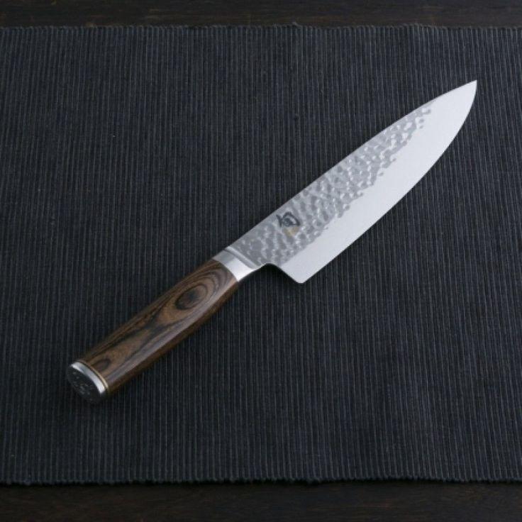 F/S Kai Kitchen Knife Shun Tim Malzer Chef's Knife 200mm Blade DM1706 Damascus #KAI