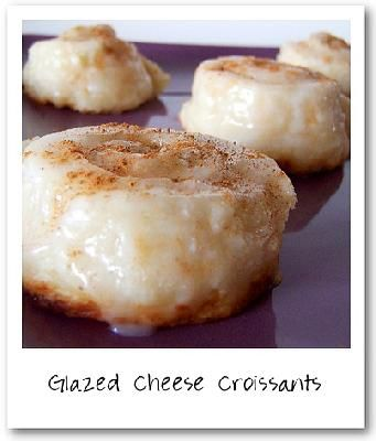 Glazed Cheese Croissants.... stop the presses! Recipe by alicat03 on ...