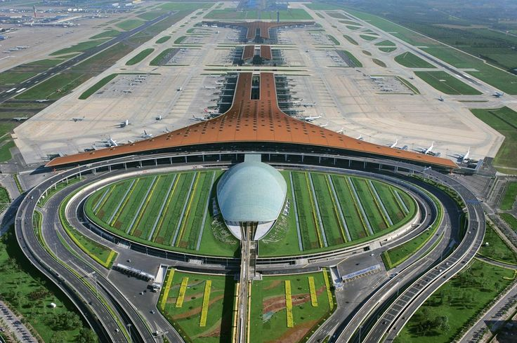 Shenzhen's new airport terminal puts the wonder back into flight (pics) | #China #Travel