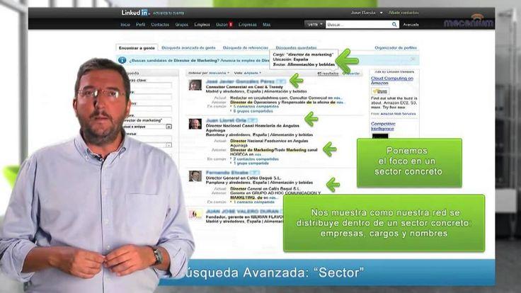 Linkedin: La página de búsqueda avanzada