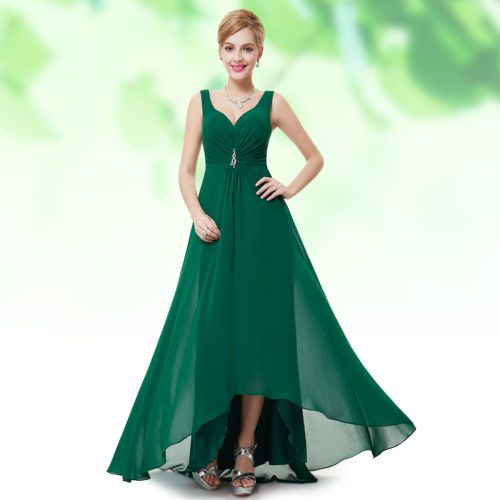 Ever-Pretty-Ladies-V-neck-Rhinestones-Ruched-Long-Evening-Party-Gown-Dress-09983