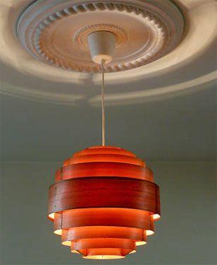 Retro Ceiling Light | 1960s