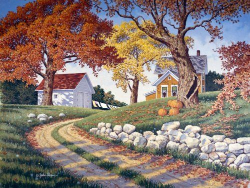 149 best Art: Charming Country Scenes images on Pinterest ... - photo#42