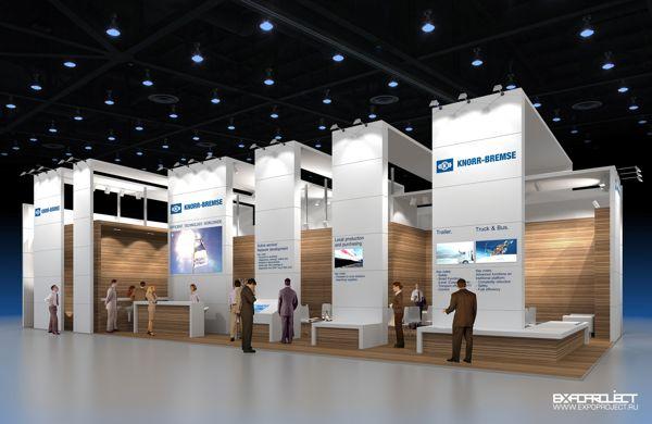 Exhibition Stand Behance : Exhibition stand knorr bremse on behance exhbit design