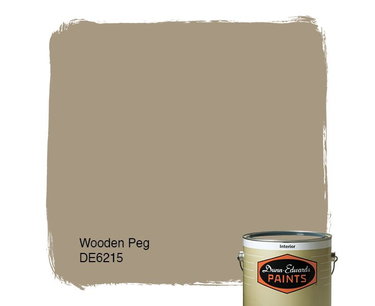 Dunn Edwards Paints Paint Color Wooden Peg De6215 Click