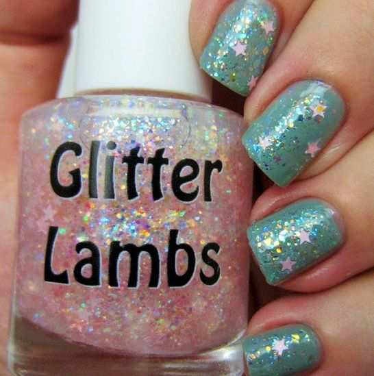 Cotton Candy Glitter Nails: 31 Best Images About Its Snowing Cotton Candy Nail Polish