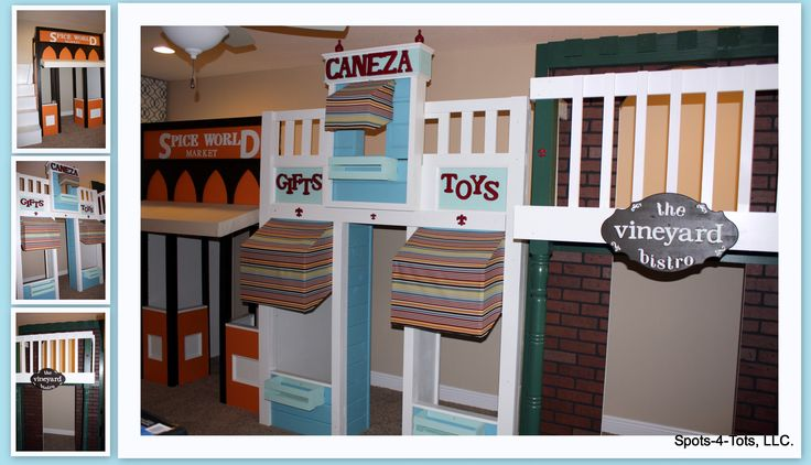 An Amazing Orlando Playroom With Three Storefronts