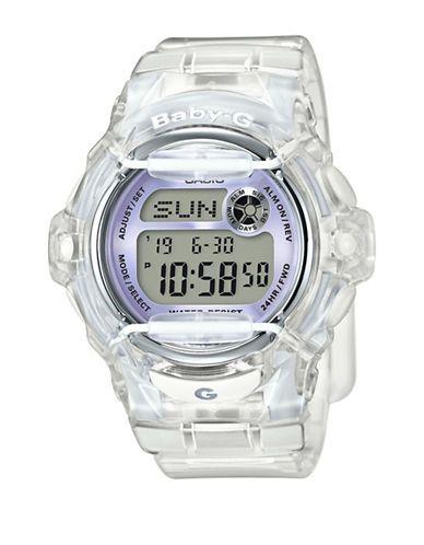 Casio | Digital Retro Jelly Resin Strap Watch | Hudson's Bay $110 (2017)