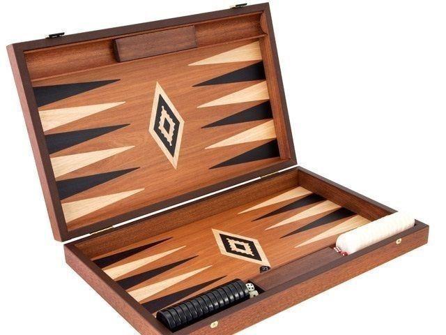 Luxury Mahogany Backgammon - Manopoulos FREE SHIPPING!!! #Manopoulos