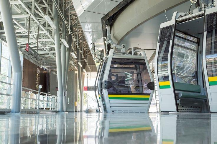 Proyecto Línea M y H Metrocables tranvía de Ayacucho Ubicación: Medellín - Antioquia Año de construcción: 2016