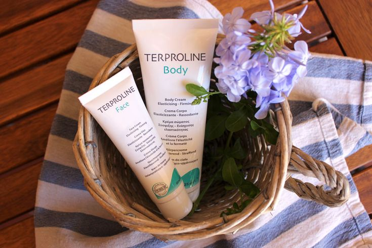 smagliature e perdita di elasticità crema corpo e crema viso Terporline di Synchroline