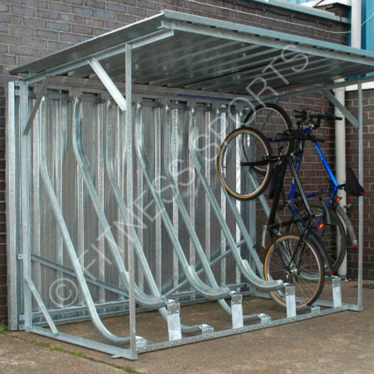 A lightweight semi verticle multi cycle storage rack which can stand independently or with an enclosed steel weather protection shelter. Stores all cycle types and tyres. Made from lightweight pressed steel the bicycle racks are suitable for commercial, public workplace or school, university use.