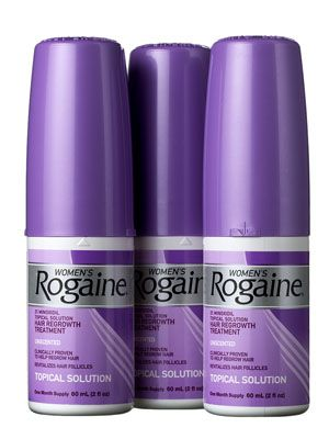 This Rogaine treatment seriously stimulates follicles to treat hair loss.