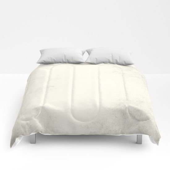 Tribal Ivory Cream Comforters by Simple Luxe | Society6