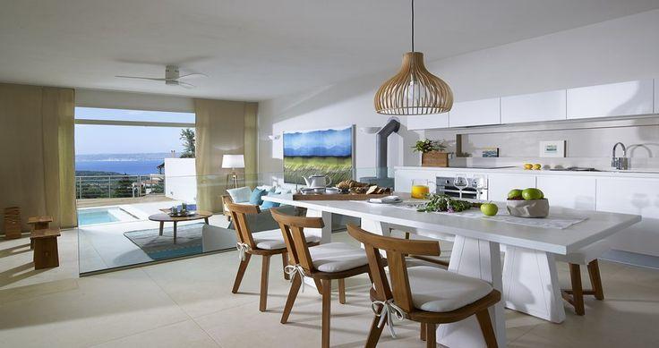 "Discover Villa ""Armi"", Crete, Greece ! You can rent it ! #luxury #villa #rent #holidays #greece #vacances #grece #alouer #aroomwithaview #sea #bedroom #decoration #swimmingpool #beautiful #sunset #luxuryvilla"