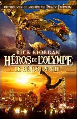 Couverture de Héros de l'Olympe, Tome 1 : Le Héros Perdu