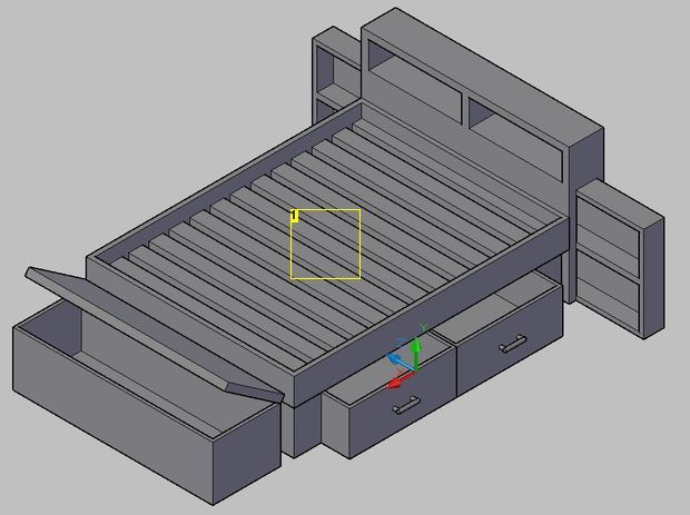 bed frame