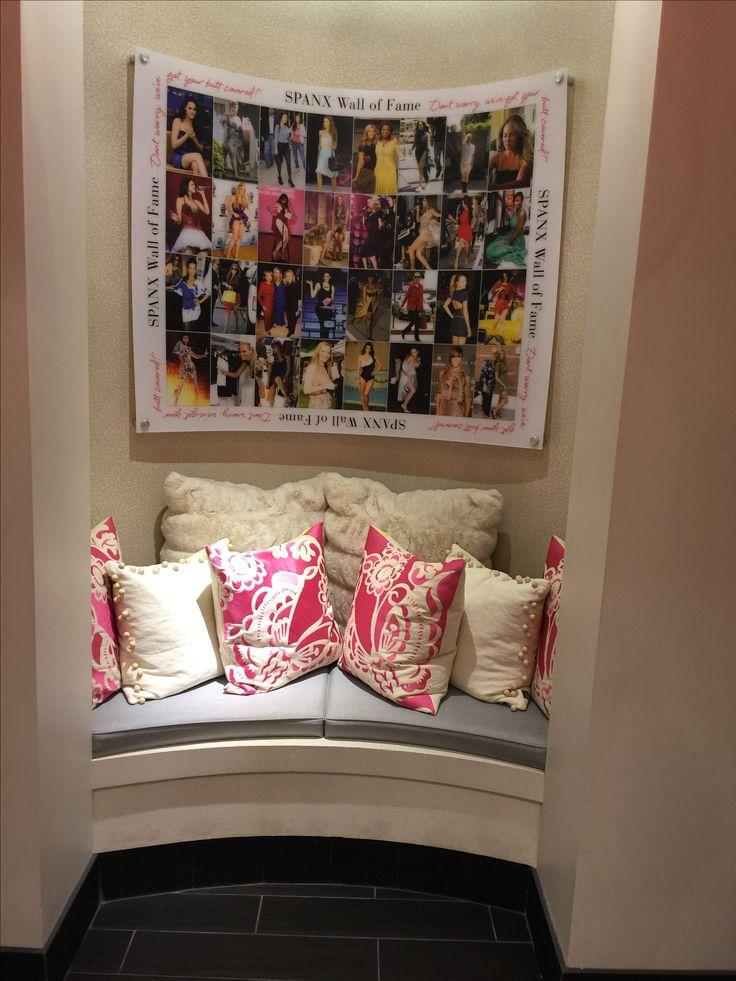 Dressing room in Spanx store in Tysons Corner, VA.