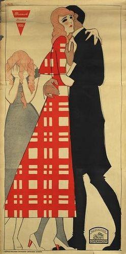 Sven Brasch. Danish Poster Designer 1886-1970. #poster #Danish