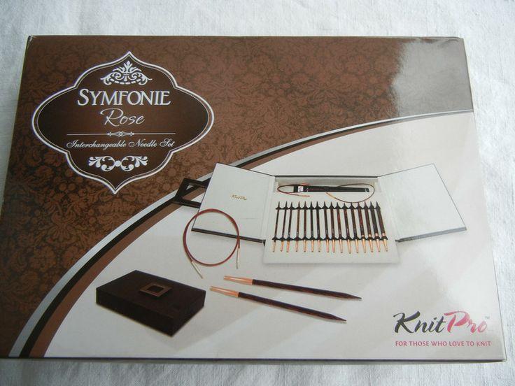 KnitPro Symfonie Rose Nadelspitzen Deluxe Set  von Pentisulea's auf DaWanda.com