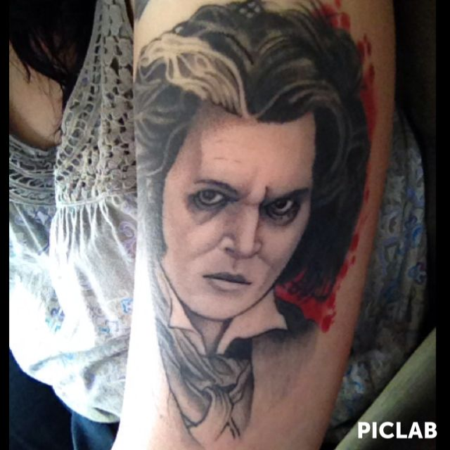 299 best images about tattoos on pinterest sugar skull for Sweeney todd tattoo