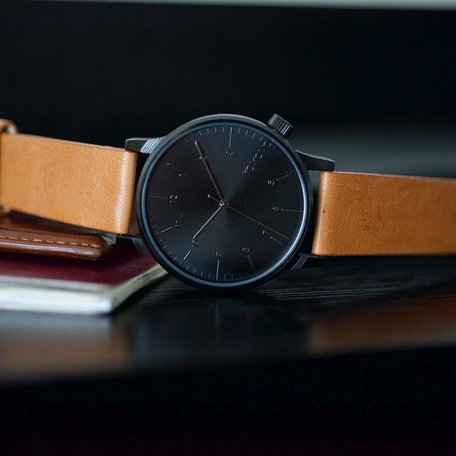 Timeless class around your wrist with Winston Regal Cognac.