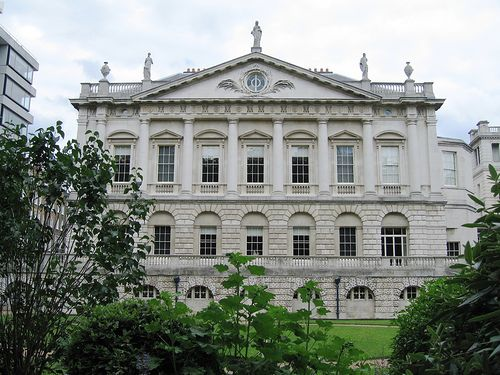 Spencer House, St James, from Green Park