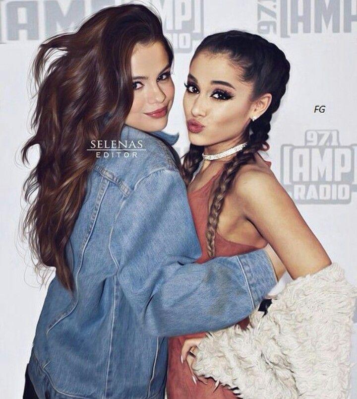 Selena Gomez and Ariana Grande Edit