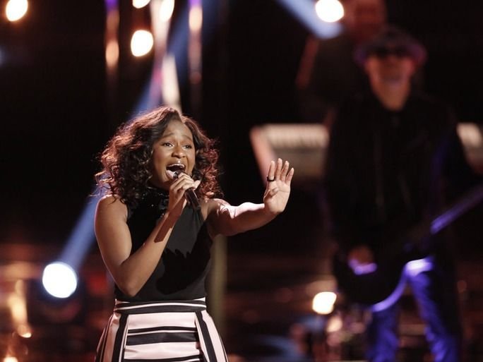 Shalyah Fearing Slays On 'The Voice' Top 10 And Social Media Is Freaking Out About It | Bustle